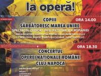 1 Decembrie se sarbatoreste la Opera Nationala din Cluj