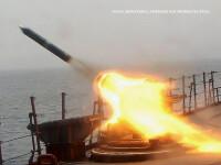 racheta ruseasca lansata de pe o nava