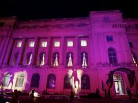 Cea de-a XVI-a editie a Iluminarii in roz, cu ocazia Zilei Nationale de Lupta impotriva Cancerului de San, organizata de Fundatia Renasterea, la Muzeul National de Arta al Romaniei