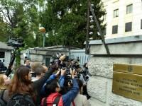 Protest Ambasada Rusiei