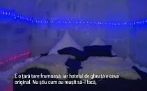 Hotelul de gheata din Sibiu