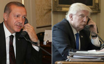 Trump, Erdogan - split