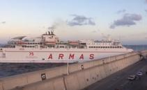 Gran Canaria, feribot, port,