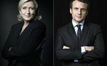 Emmanuel Macron, Marine Le Pen, alegeri in franta, sectii de votare, Emmanuel Macron Marine Le Pen