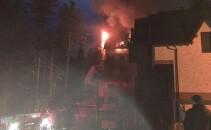 incendiu Sinaia