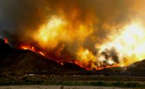 incendiu de vegetatie in California
