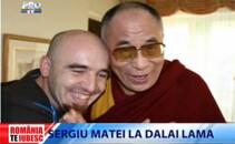 Sergiu Matei si Dalai Lama
