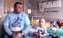 Copil bolnav de cancer