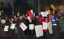 Protest Cotroceni ziua VIII