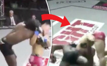 Cel mai bizat KO care s-a vazut vreodata in MMA! Si-a trimis adversarul la somn fara sa-l loveasca! Cum a reusit