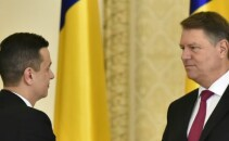Grindeanu si Iohannis cover
