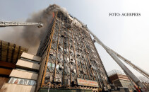 incendiu Plasco Teheran