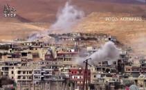 bombardament Siria, in vestul Damascului