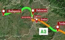 harta autostrada A3