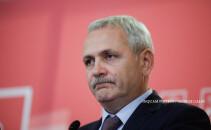 Liviu Dragnea, președintele PSD, susține o conferință de presă după votul moțiunii de cenzură