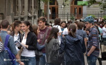 elevi BAC- Agerpres