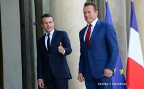 Arnold Schwarzenegger, Emmanuel Macron