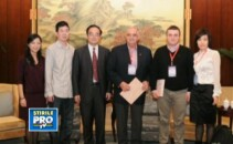 Laurentiu Popescu si savanti chinezi