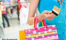 shopping, cumparaturi, card