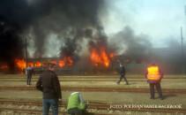 incendiu Timisoara Gara de Nord