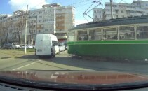 microbuz, tramvai