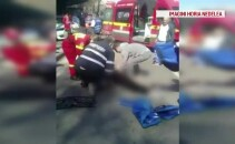 Accident statie RATB