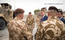 Iohannis si militari romani in Afganistan