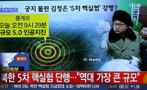 test coreea de nord