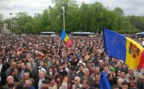 Protest in Chisinau - PRO TV CHISINAU