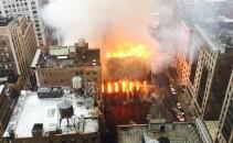 Incendiu biserica New York