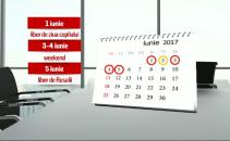 vacanta 1 iunie rusalii