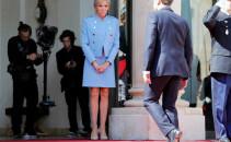 Emmanuel Macron, Brigitte Macron, Louis Vuitton