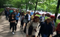 proteste ale angajatilor de la Finante