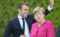 Emmanuel Macron, Angela Merkel, UE