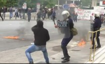 Proteste violente in Atena
