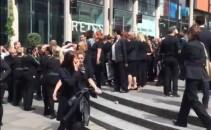 Evacuarea centrului comercial din Manchester