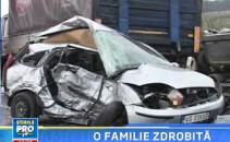 Accident grav la Orastie! O fetita de 6 ani si-a vazut parintii murind