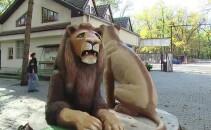 Statui la Gradina Zoologica Targu Mures