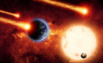 meteoriti, Pamant, shutterstock