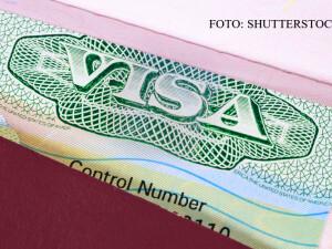 viza americana pe pasaport
