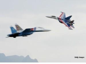 avion de lupta rusesc SU-27