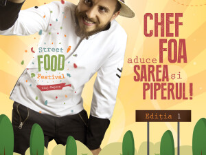 Clujul devine capitala Street Food alaturi de Chef Foa