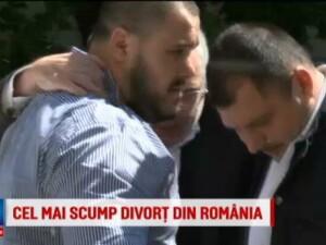 Noua infruntare la tribunal in cel mai costisitor divort din Romania. Dan Adamescu a fost carat pe brate de bodyguarzi