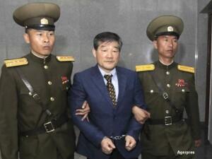 American condamnat in Coreea de Nord