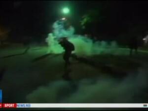 Brazilia, marcata de violente la finalul primei greve generale din ultimii 20 de ani. Zeci de autobuze si masini, incendiate