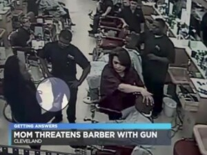 pistol frizerie