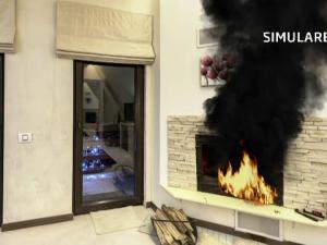 simulare incendiu