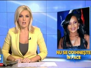 Scandal la inmormantarea fiicei lui Whitney Houston, Bobbi Kristina. Motivul pentru care membrii familiei ei s-au certat