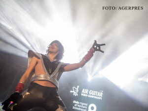 campion mondial la Air Guitar