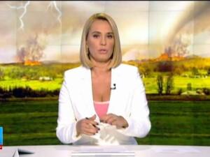 Intalnire intre un incendiu de vegetatie si o tornada, in Portugalia. Pompierii si localnicii au privit panicati fenomenul